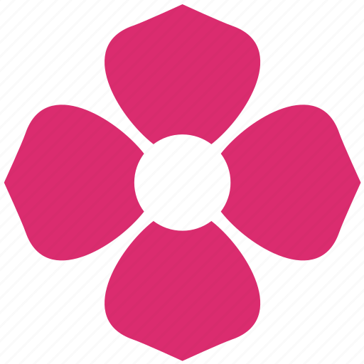 abstract, bloom, decoration, flower, ornament, petals icon