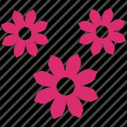 bloom, decotation, floral, flower, flowers, ornament, plant icon