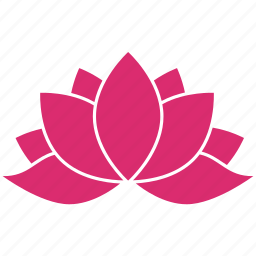 bloom, ecology, floral, flower, leaf, lotus, nature icon