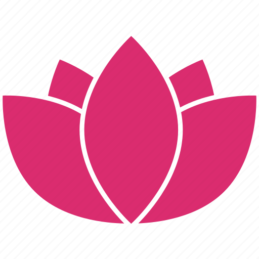 bloom, ecology, floral, flower, lotus, nature, plant icon