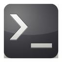 prompt, command icon