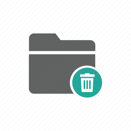 delete, document, file, folder, trash, trash bin icon