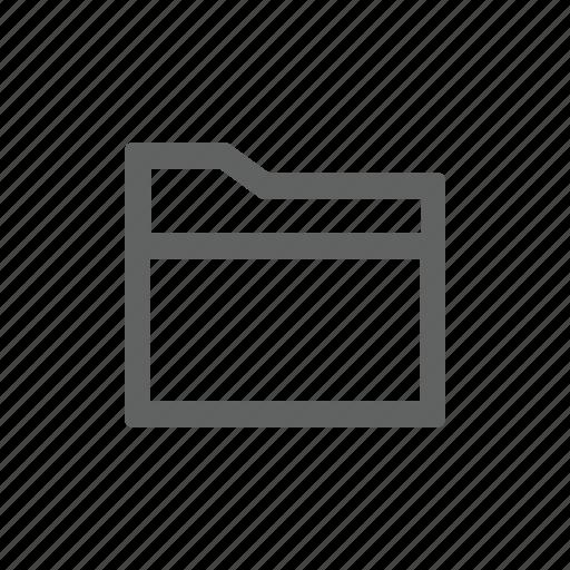 document, folder icon