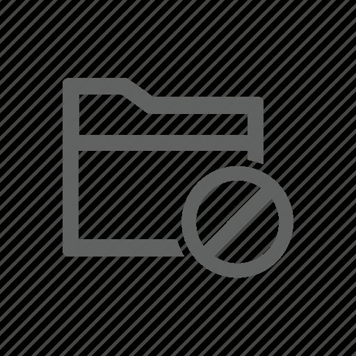 block, error, folder, warning icon