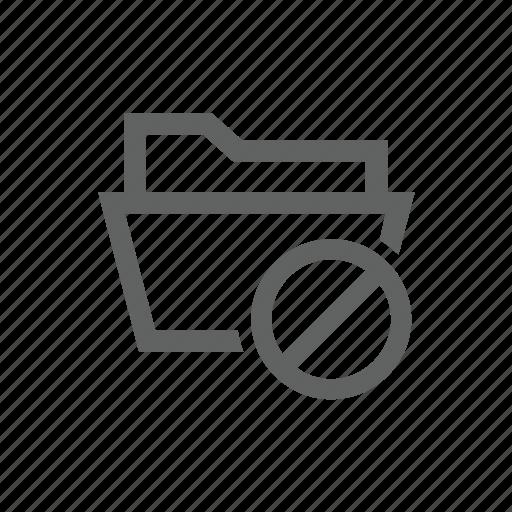 block, directory, error, folder, warning icon