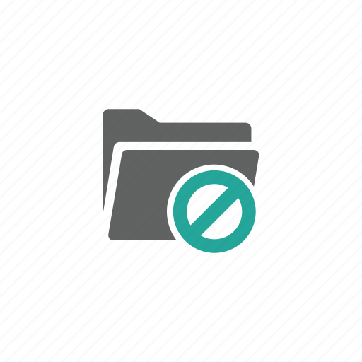block, directory, error, file, folder, warning icon