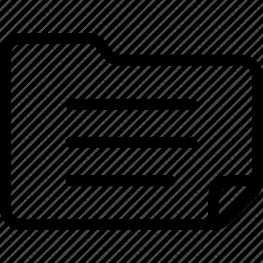 document, documents, folder icon