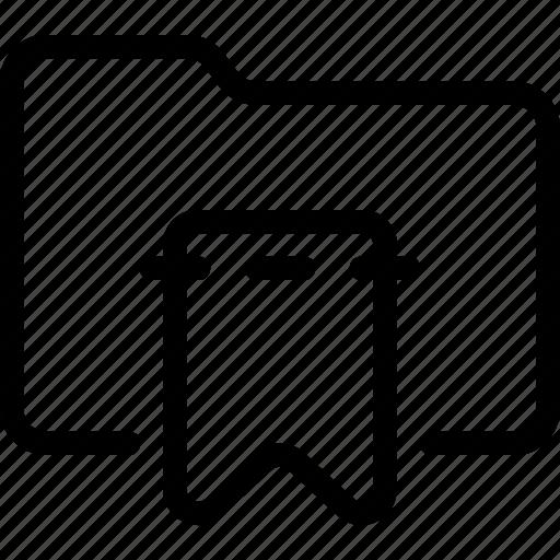 bookmark, favorites, folder icon