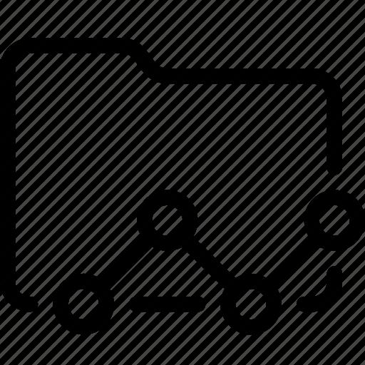 business, folder, statistics icon