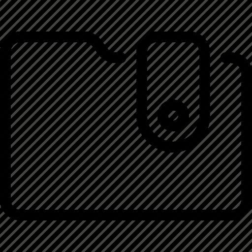 folder, shopping, wallet icon