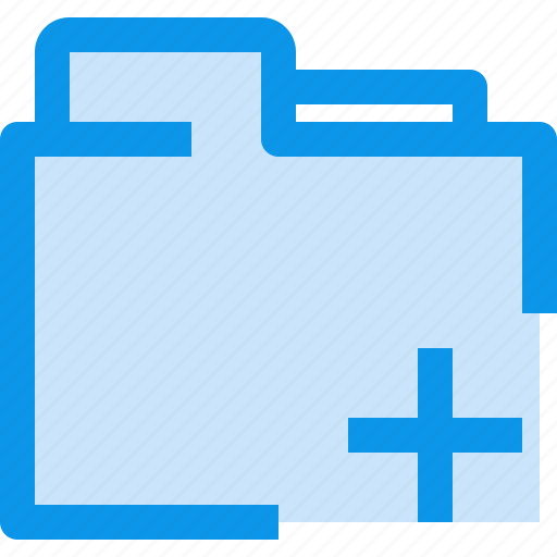 add, archive, binder, business, document, folder, office icon