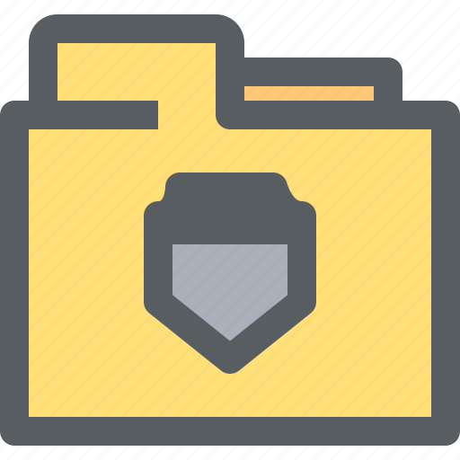 archive, binder, business, document, folder, office, security icon