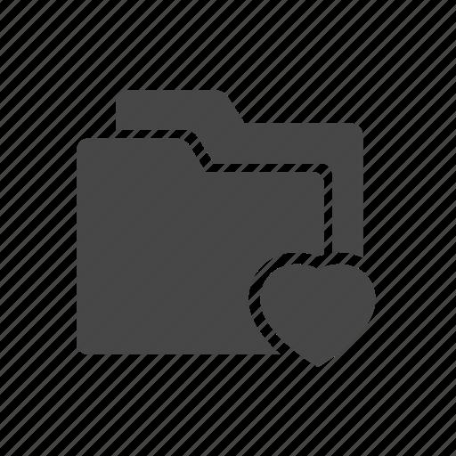 document, file, folder, love, write icon