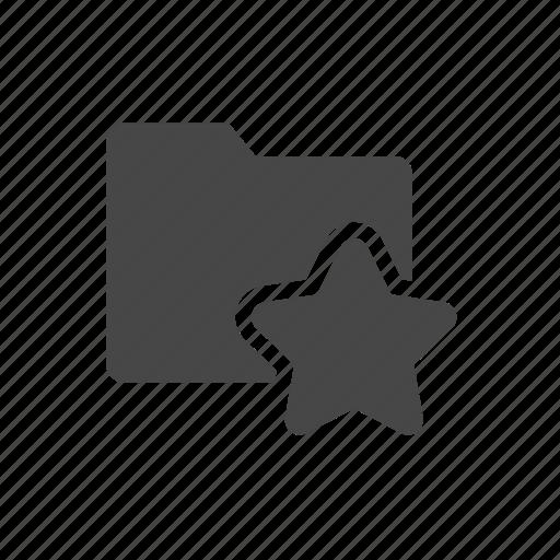bookmark, bookmark folder, favorite folder, star icon