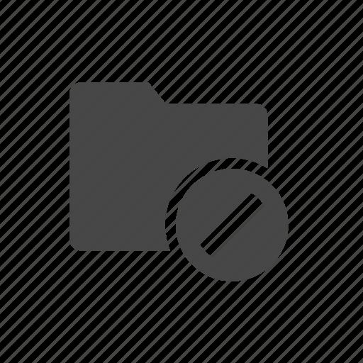 delete, error, essentials, folder icon