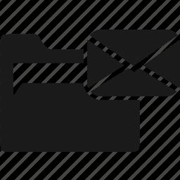 data, document, folder, mail, office icon