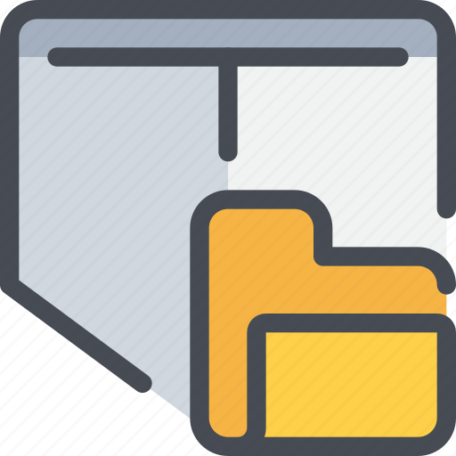 archive, file, folder, secure, security icon