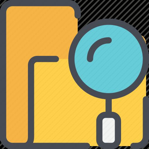 archive, file, folder, research, search, seo icon