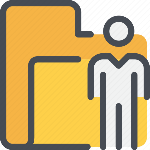 archive, business, file, folder, management, people icon