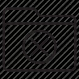 close, document, file, folder icon