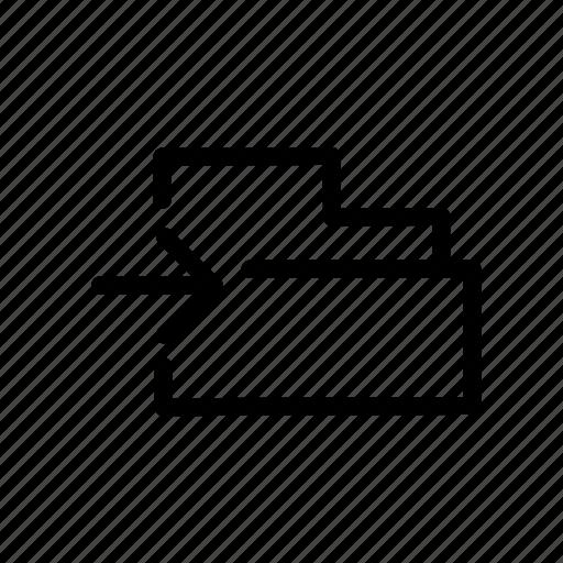 folder, move icon