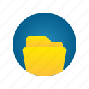 document, file, folder, storage