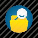 document, file, folder, search, storage