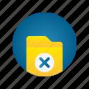 delete, document, file, folder, remove, storage
