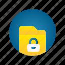 document, file, folder, lock, storage