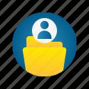 admin, document, file, folder, storage, user
