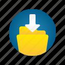 document, download, file, folder, storage