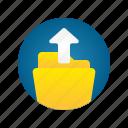 document, file, folder, storage, upload