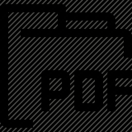 archive, document, file, folder, job, office, pdf icon
