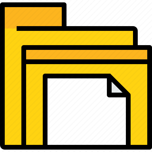 archive, business, data, document, file, folder icon