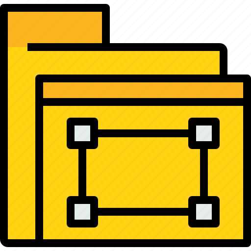 archive, business, data, document, file, folder, graphic icon