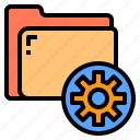 business, document, folder, information, office, paper, tool icon