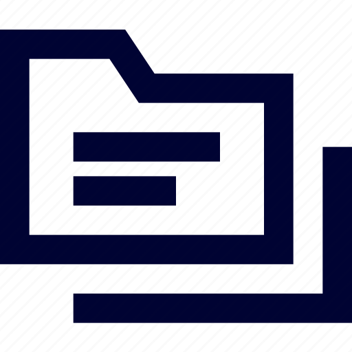 archive, document, file, files, folder, storage, text folder icon