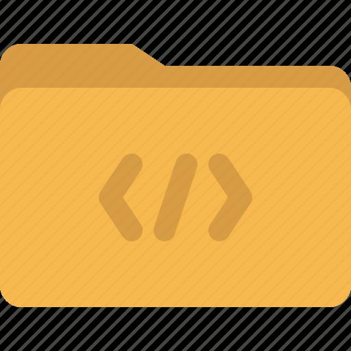 code, coding, css, document, folder icon