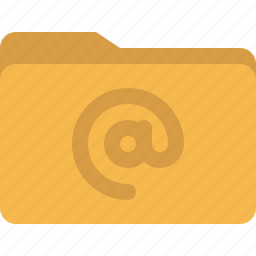 document, email, folder, mail icon