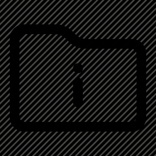 document, files, folder, info, information icon