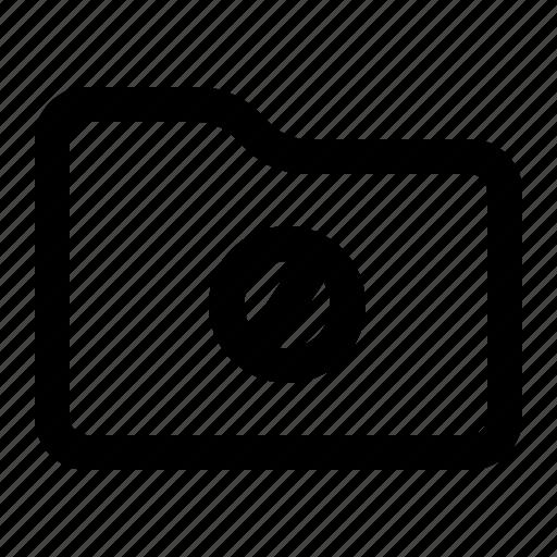 document, folder, forbidden, stop icon