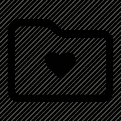 Favorite, folder, love, document icon - Download on Iconfinder