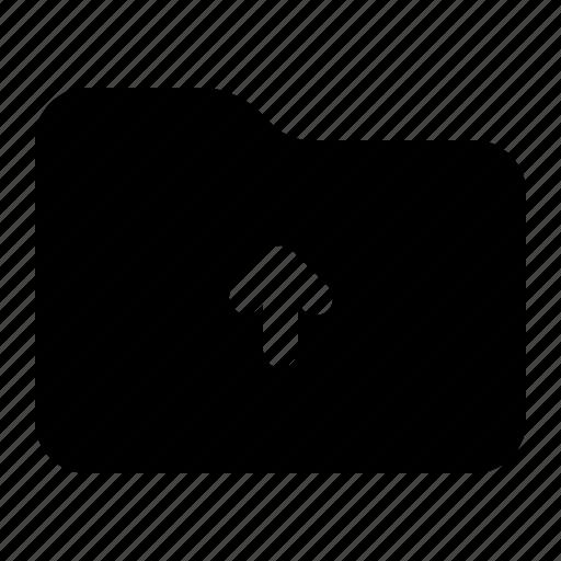 Folder, upload, document, upload folder icon - Download on Iconfinder