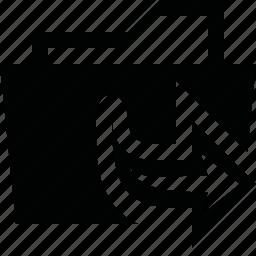 arrange, arrow, copy, duplicate, folder, move, order icon