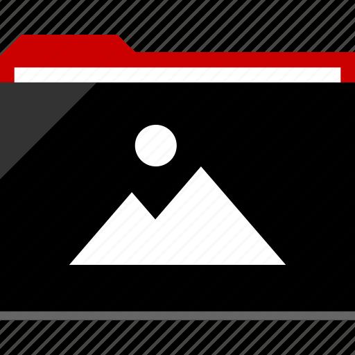 archive, files, folder, gallery, photo icon