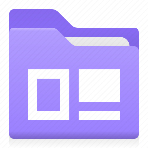 block, document, folder, layout, office, text icon