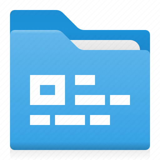 block, data, document, folder, office, text icon