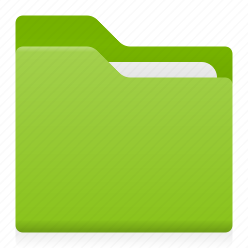 document, folder, office icon