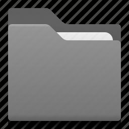document, folder, office icon