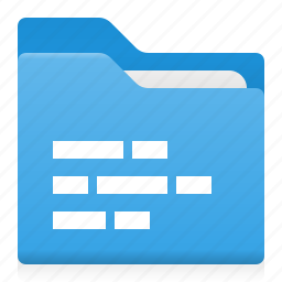 data, document, folder, office, text icon